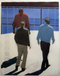RGarrison-Three-Walking-Figures