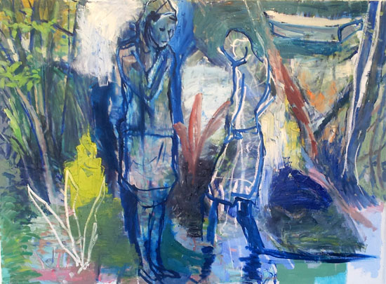 Conversations with the boy (SOLD)