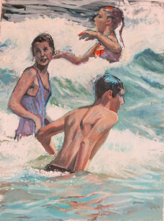 Day in the waves(sold)