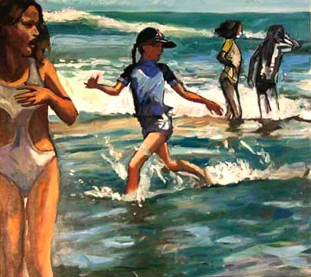 Chased By The Waves (Sold)