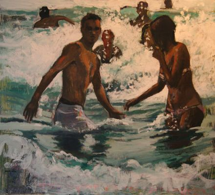 In The Surf (Sold)