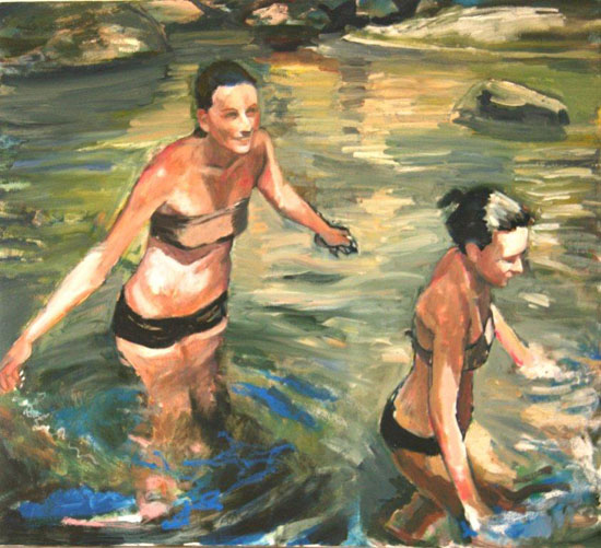 Wading 1 (Sold)