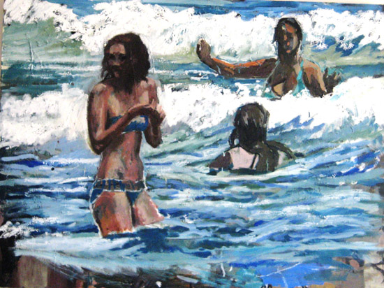 Day in the waves (sold)