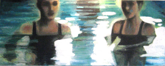 Swimming lesson (sold)