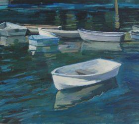 Dingys at stillwater (sold)