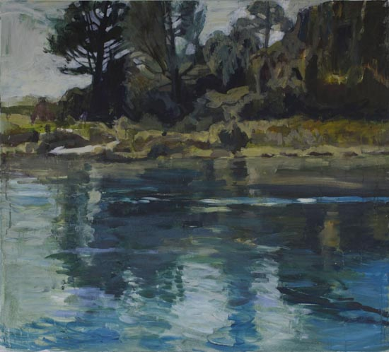 Waikato River Reflections (sold)