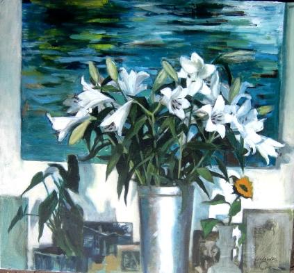Lilies at Xmas